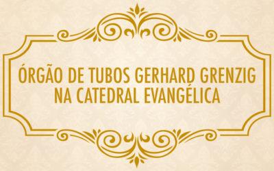 Catedral terá dois órgãos de tubos!