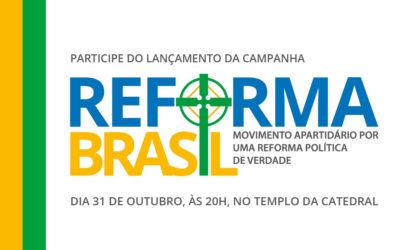 Primeira Igreja mobiliza-se em movimento cívico